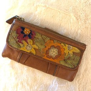 Floral Fossil Wallet
